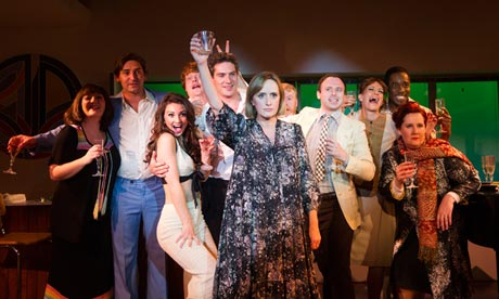 Merrily We Roll Along runs at the Chocolate  Factory till mid March
